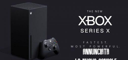 Xbox Serie X: Annunciata la nuova console di Microsoft