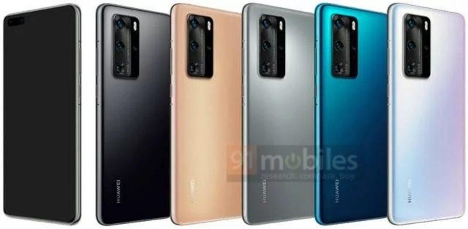 Huawei P40 Pro: display, fotocamera e colori