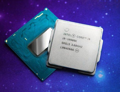 Intel: i9-10900K il processore consuma troppo?