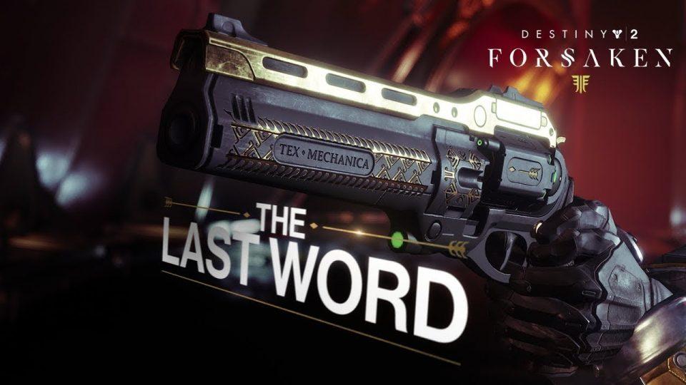 destiny 2 ultima parola