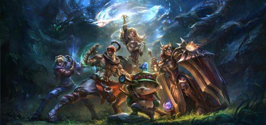 league of legends requisiti