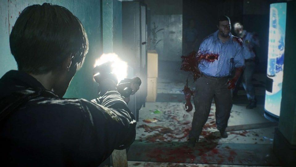 Resident Evil 2 remake - Visuale