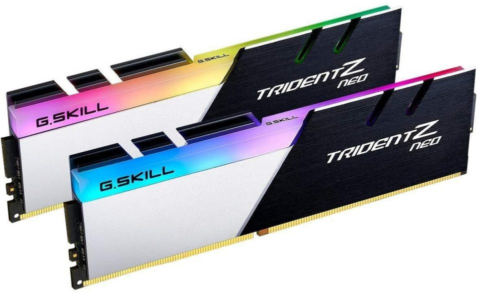 PC da gaming Fascia Ultra G.Skill Trident Z Neo 2×8 GB 3600mhz