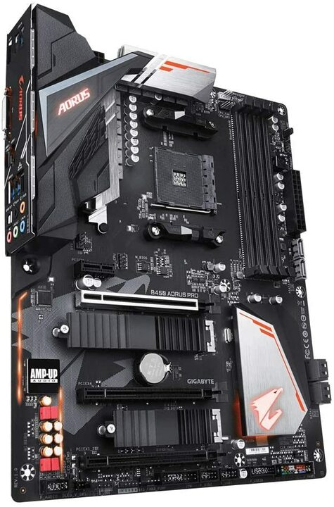 PC da gaming fascia media Gigabyte B450 Aorus Pro