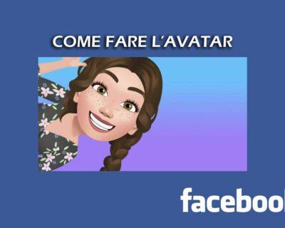 Come fare avatar di Facebook – Guida rapida