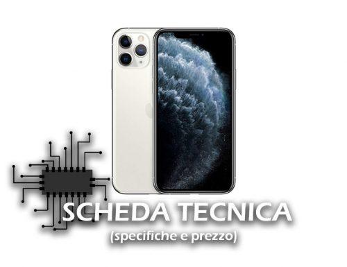 iPhone 11 PRO – Scheda Tecnica