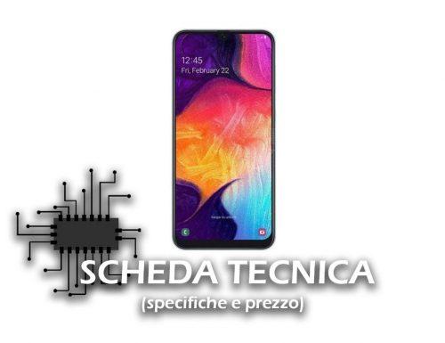 Samsung Galaxy A50 – Scheda tecnica e Prezzo
