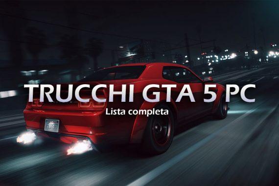 Trucchi GTA 5 PC – Lista completa