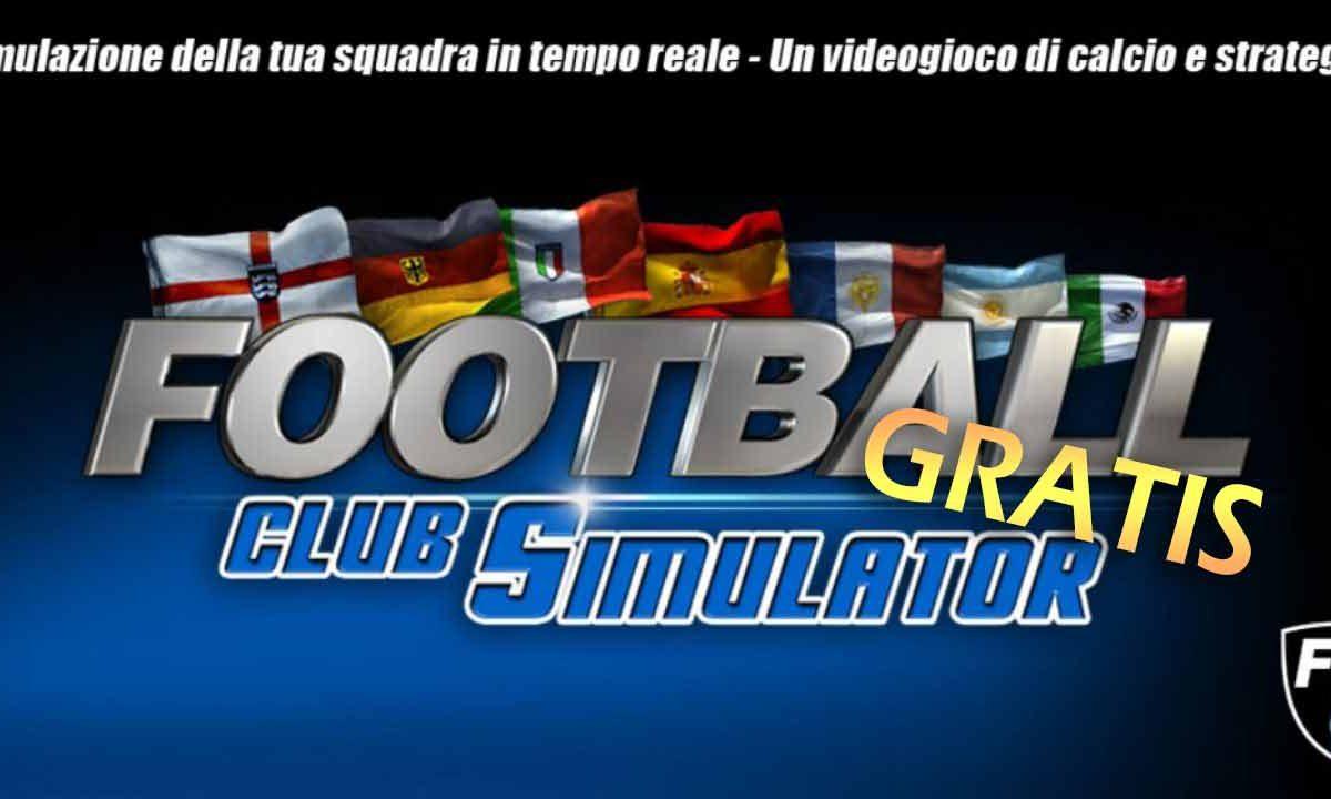 Football Club Simulator: gratis su FX Store