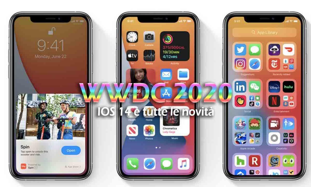 WWDC 2020: novità Apple e IOS 14 (VIDEO)
