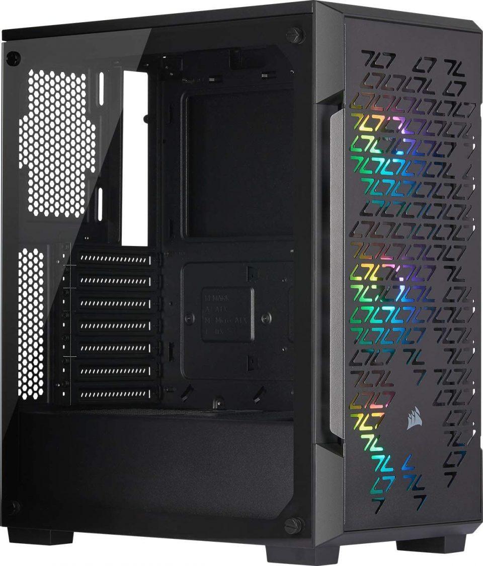 PC da Gaming Fascia Alta Corsair iCUE 220T RGB