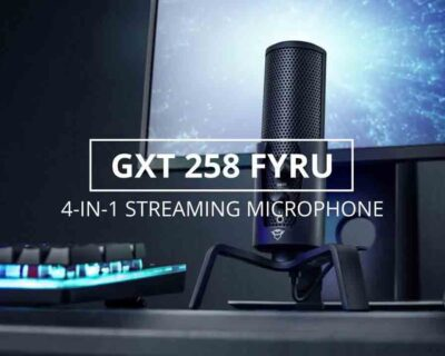 GXT 258 FYRU 4-in-1 microfono streaming – Recensione