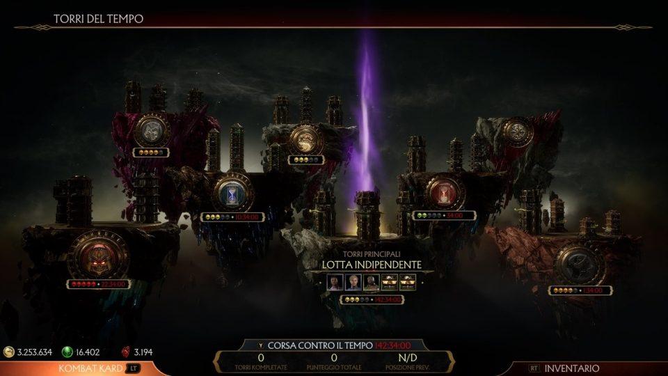 Mortal Kombat 11 torri