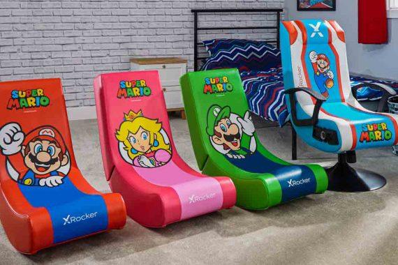 X Rocker: annunciata la sedia da gaming con licenza ufficiale Nintendo