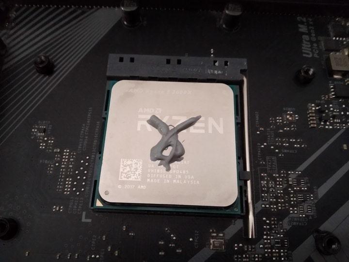 Come montare una CPU