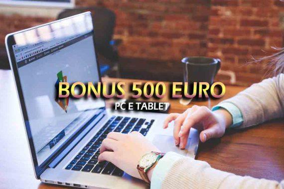 Bonus PC e tablet da 500 euro – Come richiederlo?