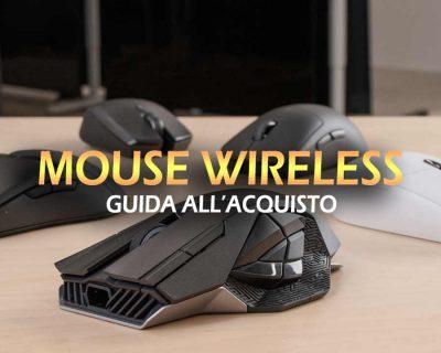 Migliori mouse wireless – Guida all'acquisto