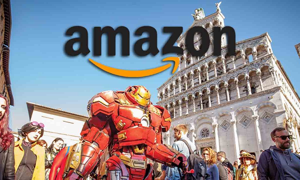 Amazon diventa l'e-commerce ufficiale del Lucca Comics & Games