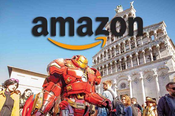 Amazon diventa l'e-commerce ufficiale del Lucca Comics & Games