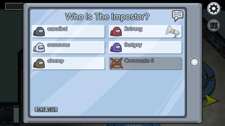 Come si gioca ad Among Us impostore