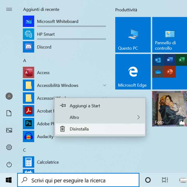 disinstallare-programmi-windows-10