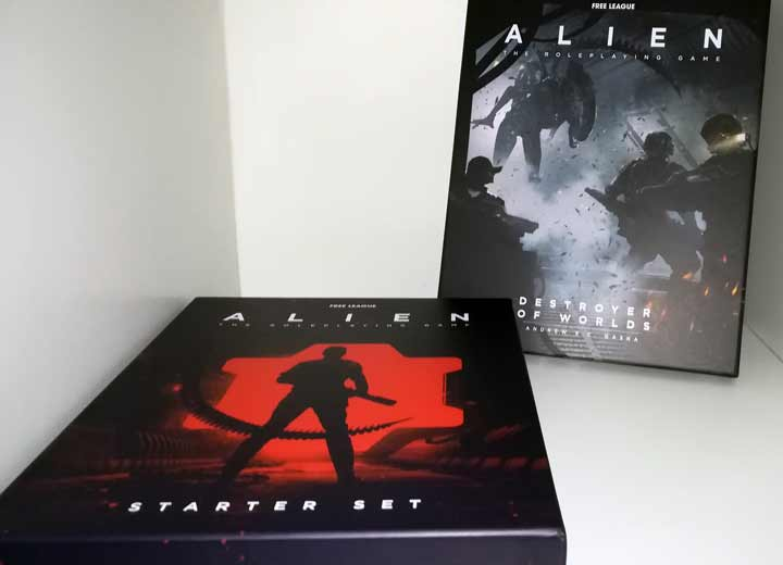 alien rpg starter set e destroyer of worlds