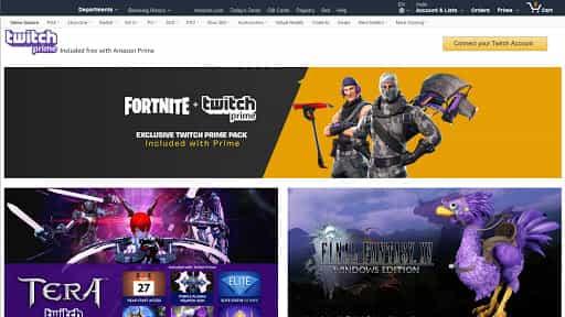 collegare amazon prime a twitch