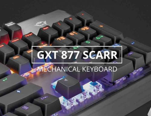 Trust GXT 877 Scarr: Tastiera meccanica – Recensione