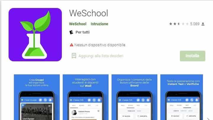 come-scaricare-weschool-su-android