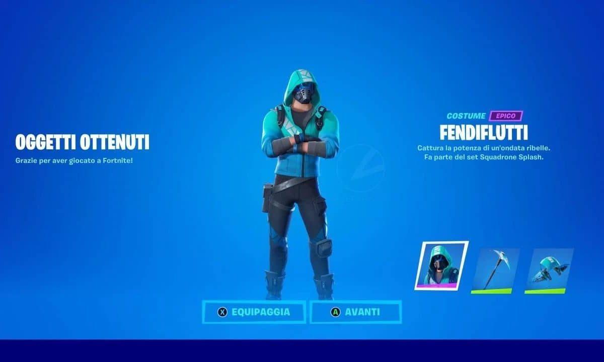Fortnite: come sbloccare la Skin Squadron Splash di Intel gratis!