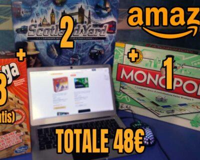 Amazon: Prendi 3 paghi 2 giochi da tavolo (per poco tempo)