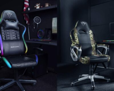 Trust Gaming: disponibili le sedie GXT 716 Rizza RGB e GXT 705C Ryon