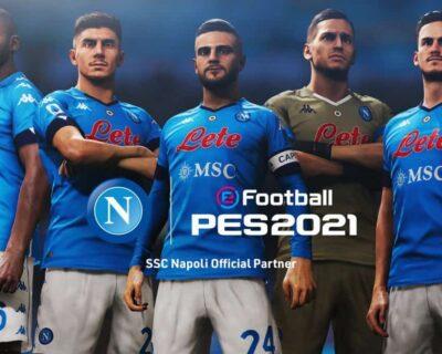 eFootball PES: Napoli ufficializza la collaborazione con KONAMI