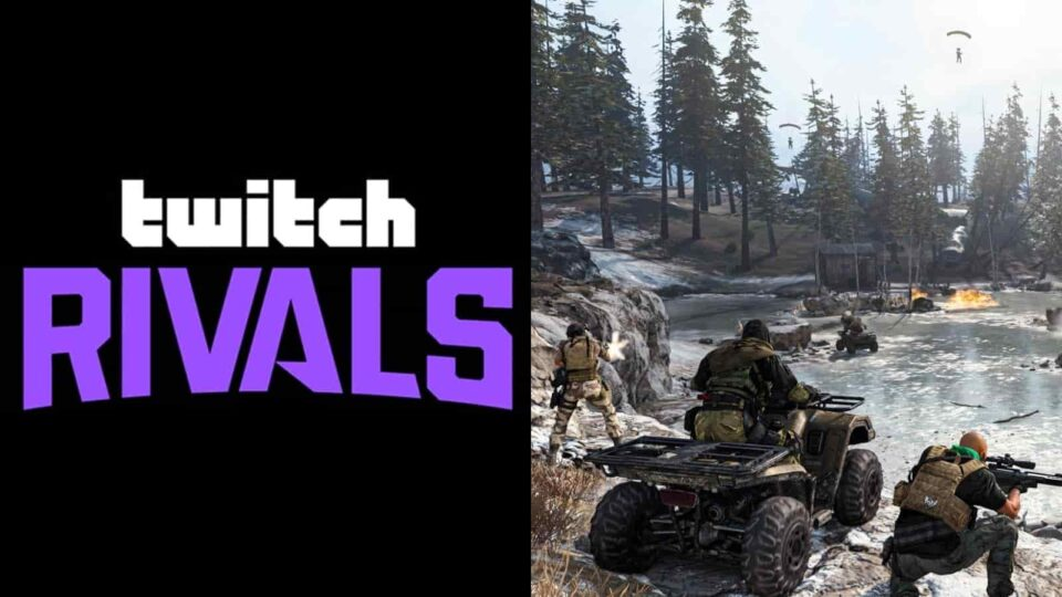 Twitch Rivals evento Warzone