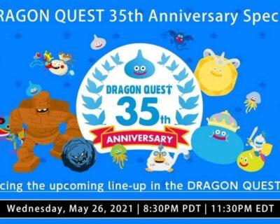 Dragon Quest: novità durante un evento il 27 Maggio