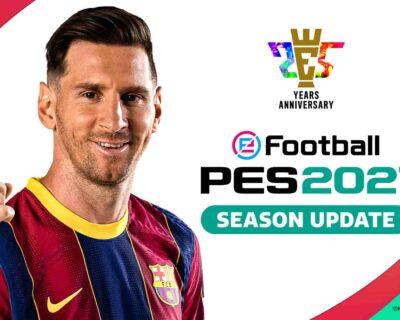 PES 2022: avrà un nuovo nome e un nuovo logo