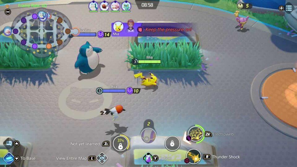 pokemon-unite-gameplay